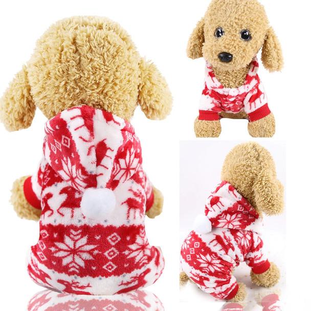 Red Deer Dog Onesie Pyjamas