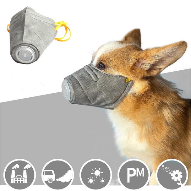 Protective Filter Dog Mask