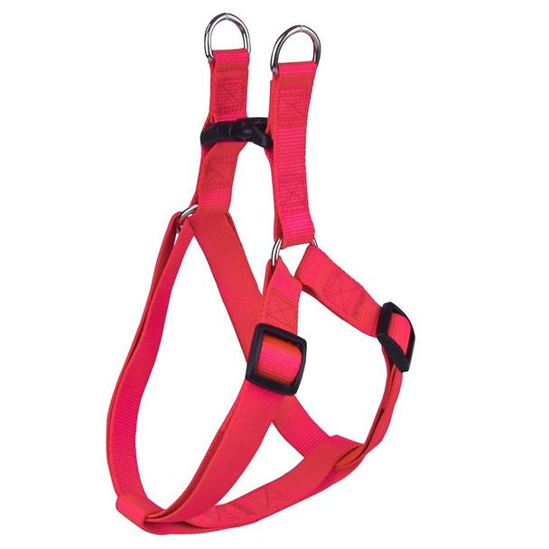 Red Classic Nylon Dog Harness