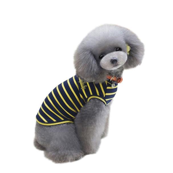 Yellow Striped Dogbaby Dog Vest