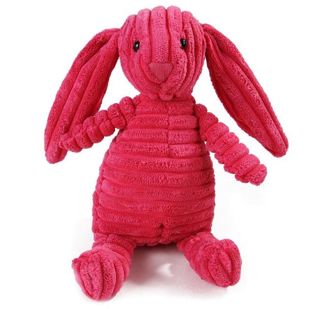 Rabbit Squeaking Animal Dog Toy