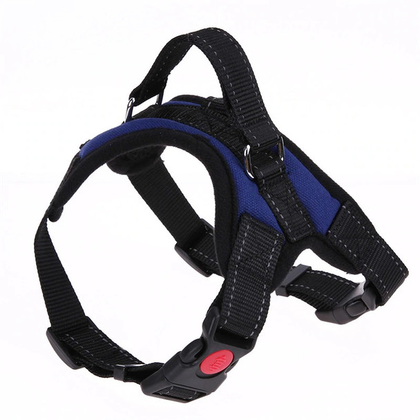 Blue Heavy Duty Dog Harness