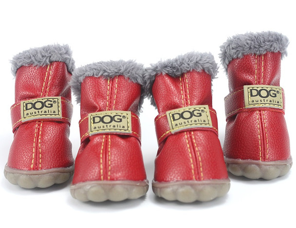 Red Dog Snow Boots