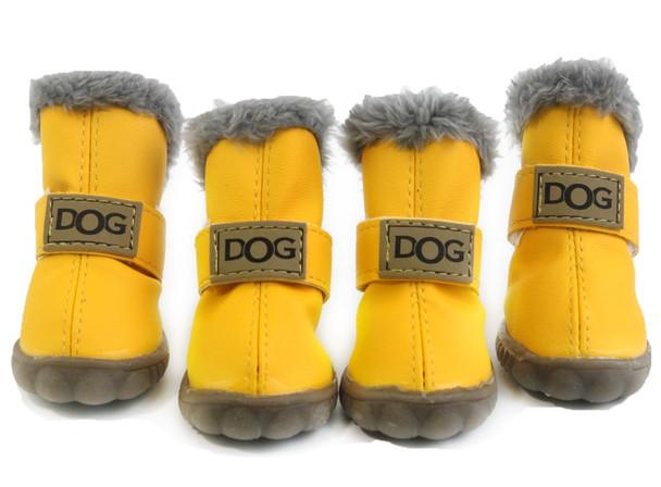 Yellow Dog Snow Boots
