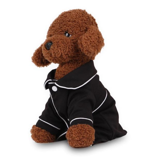 Black Dog Pyjama Top