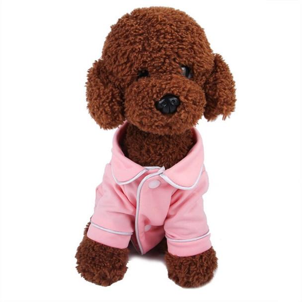 Pink Dog Pyjama Top