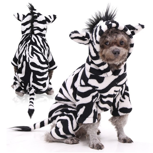 Zebra Costume Dog Onesie