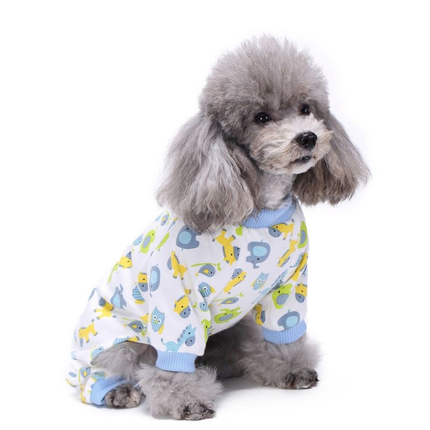 Blue Animals Dog Pyjamas