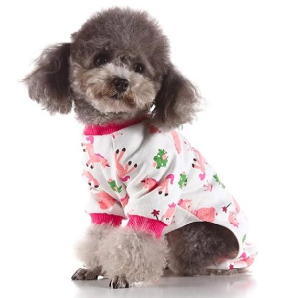 Pink Unicorn Dog Pyjamas
