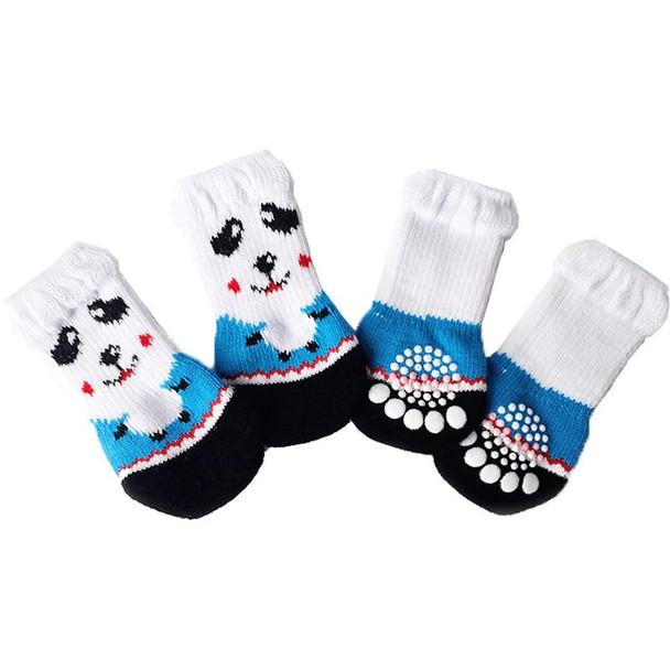 White Face Dog Socks