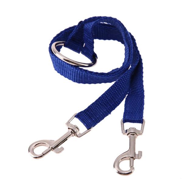 Blue Twin Dog Coupler Lead
