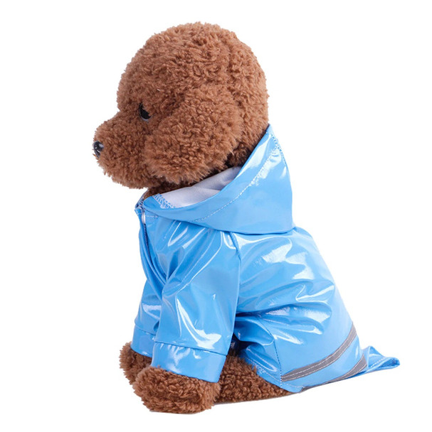 Blue Dog Raincoat