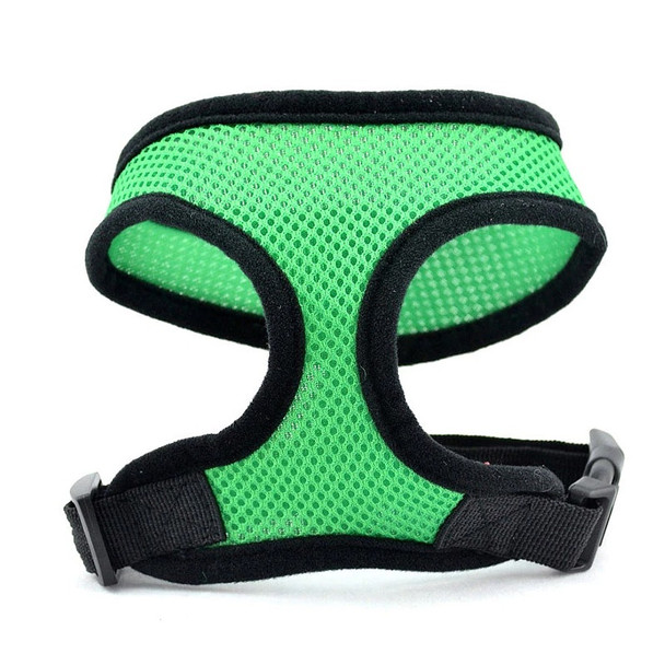 Green Mesh Dog Harness
