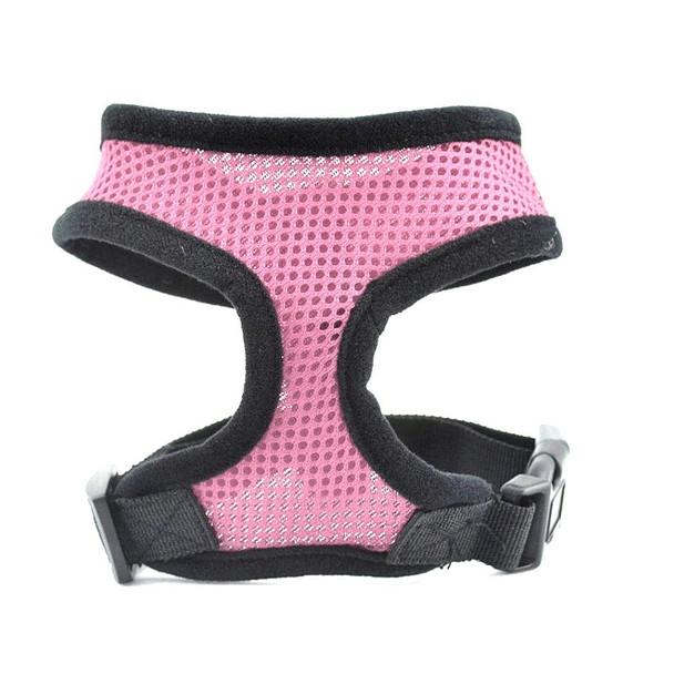 Pink Mesh Dog Harness