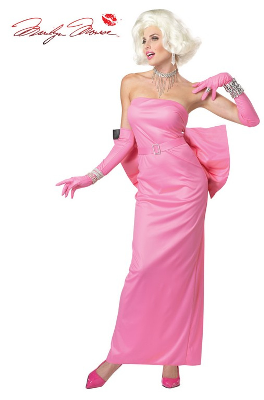 SALE! Marilyn Monroe Plus Size Supersize Costume + Free Gift