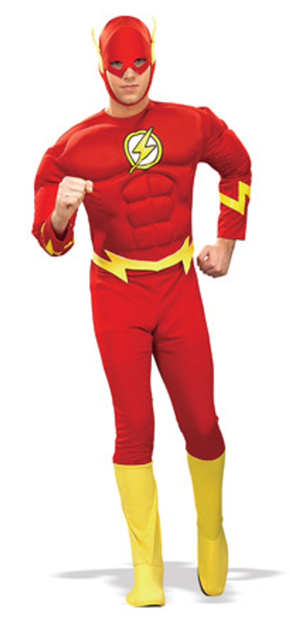 The Flash TV Series Deluxe Adult Muscle Suit