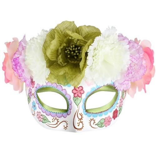 9e20b6484a9 Frida Flower Masquerade Eye Mask