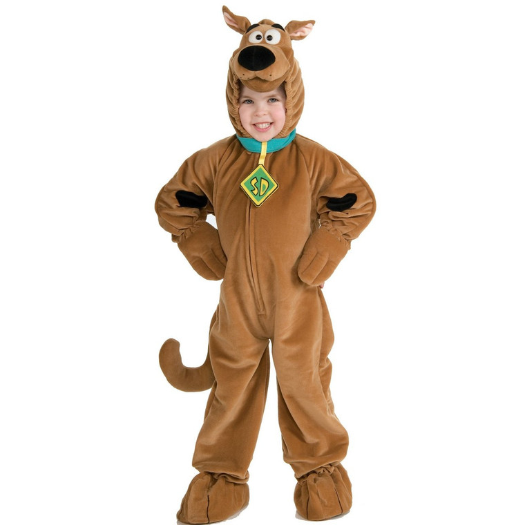 Deluxe Scooby Doo Childs Costume