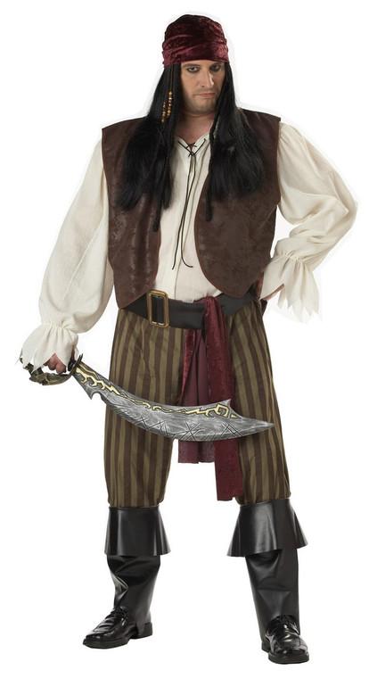 Rogue Pirate Costume Plus Size