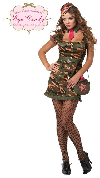 Private First Class Womens Costume