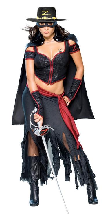 Lady Zorro Womens Costume