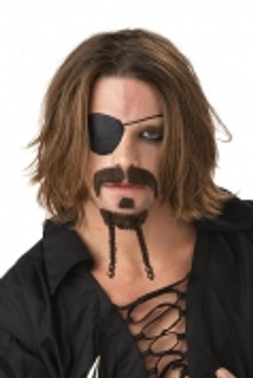The Rogue Moustache - Dark Brown
