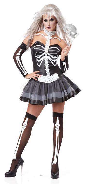 Skeleton Masquerade Costume