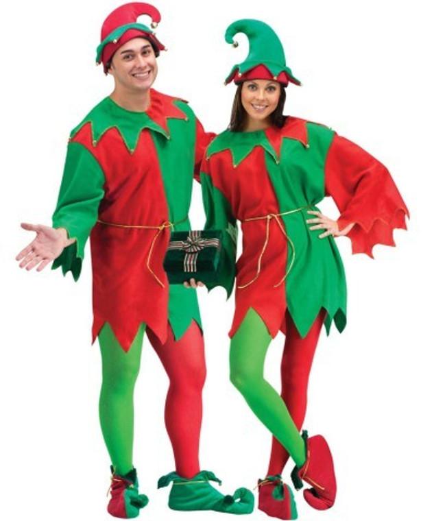 Elegant Elf Christmas Costume