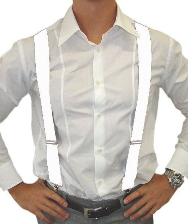 Braces White - Suspenders