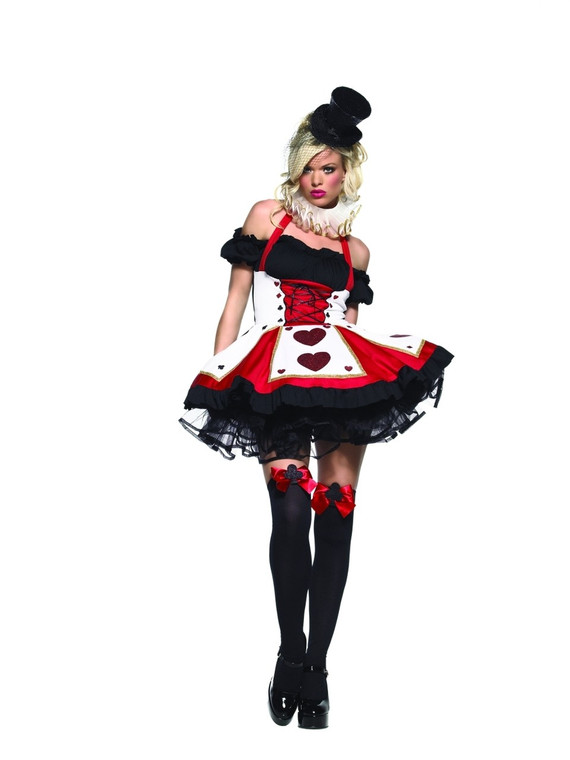 Pretty Playing Card Womens Costume