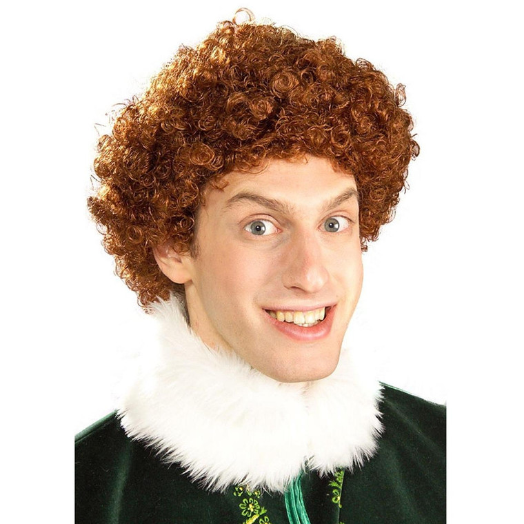 Buddy The Elf Deluxe Wig