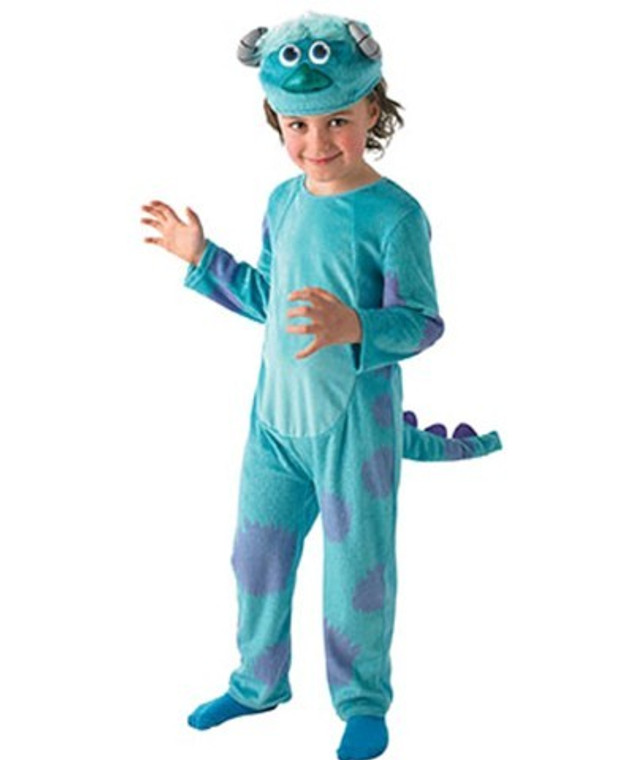 Sulley Deluxe Boys Costume Monsters Inc