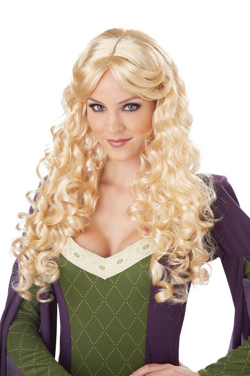 Renaissance Blonde Womens Wig