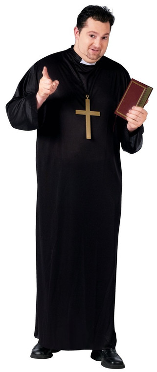 Plus Size Holy Priest Costume