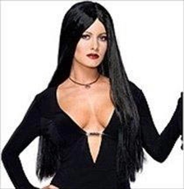 Morticia Addams Deluxe Wig