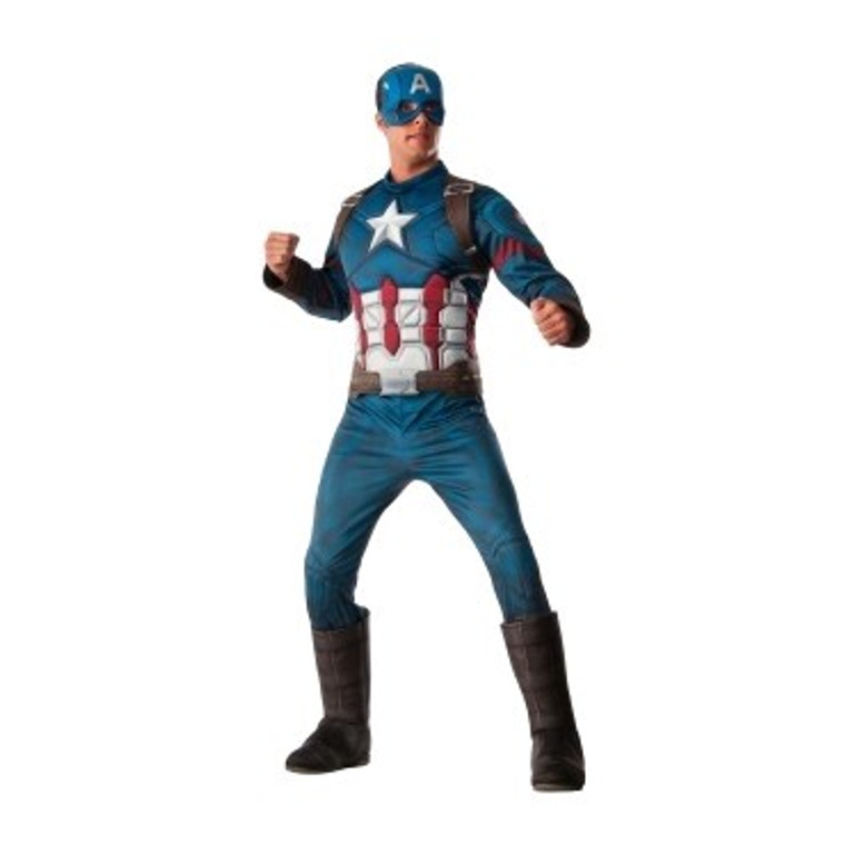 Captain America Muscle Costume - The Avengers Age Of Ultron