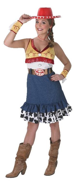 Sassy Jessie Costume Toy Story