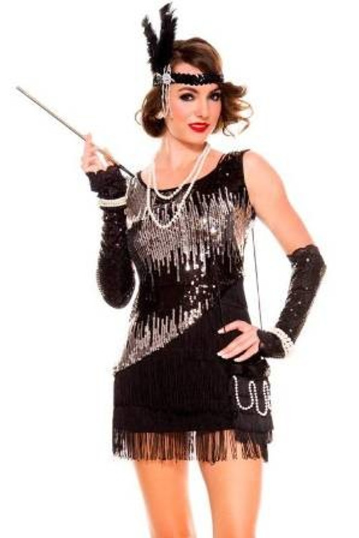 Fearless Flapper 1920's Costume