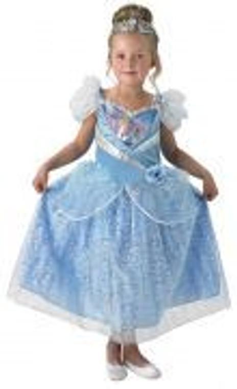 Cinderella Shimmer Girls Costume
