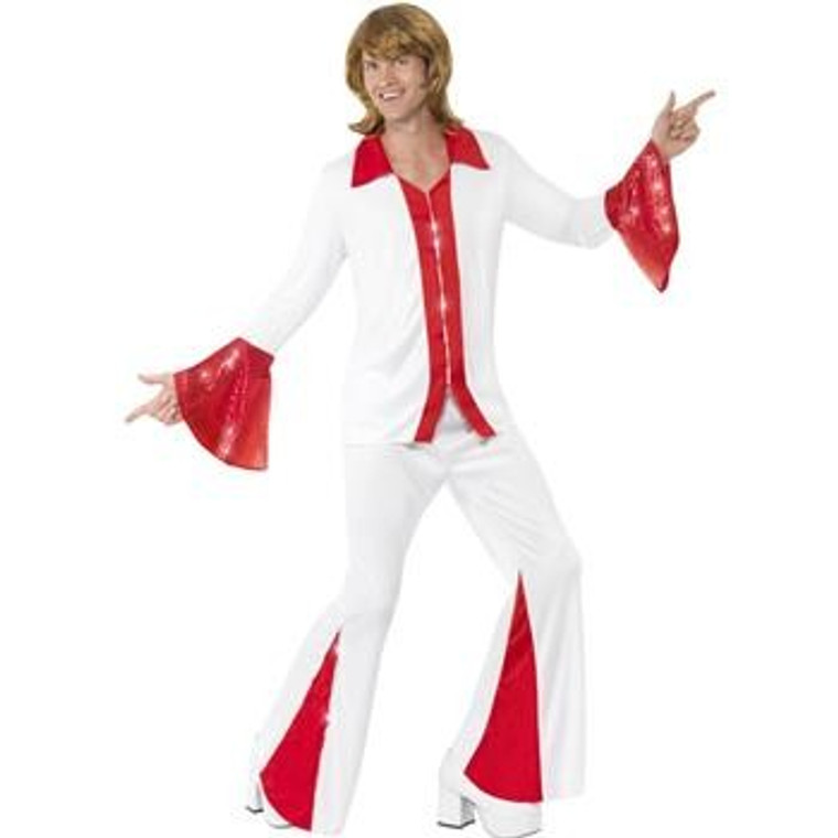 Super Trooper Mens Disco Costume