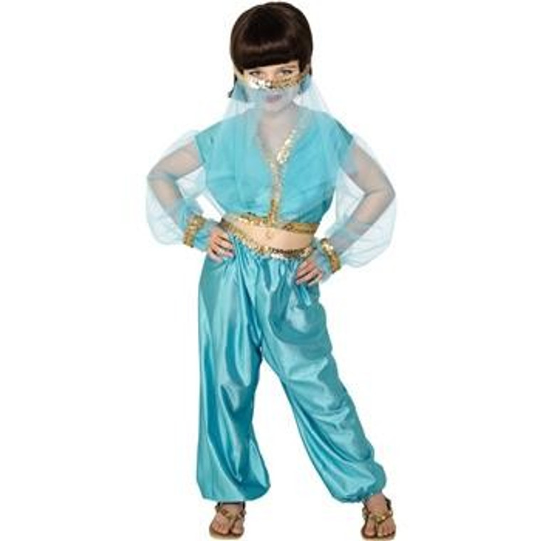 Arabian Princess Girls Costume