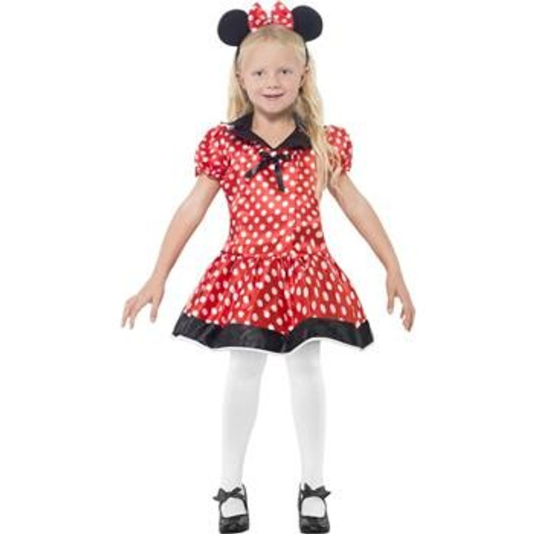 Cute Minnie Mouse Girls Costume