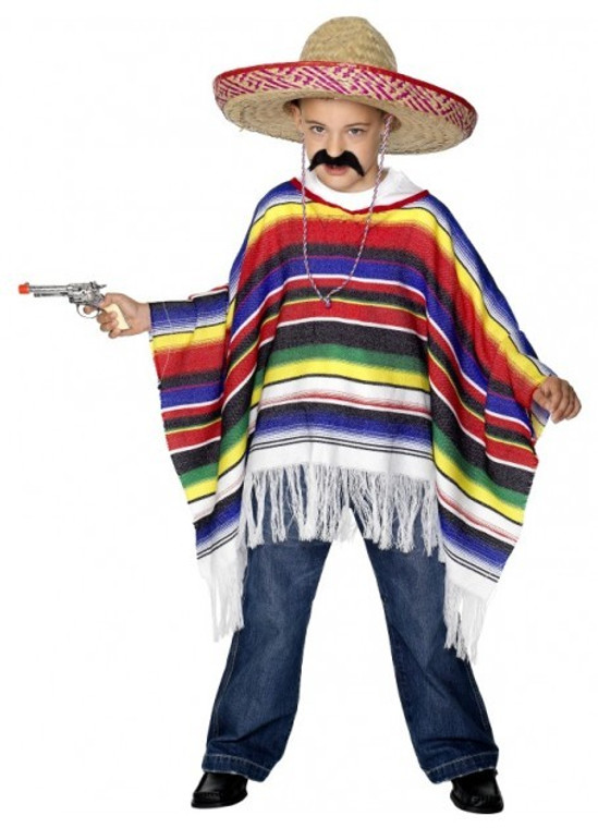 Mexican Childs Poncho