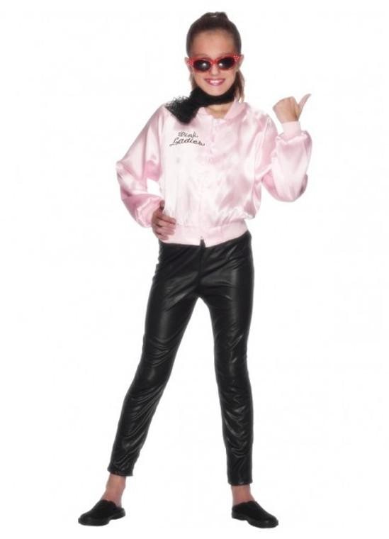 Pink Ladies Girls Jacket