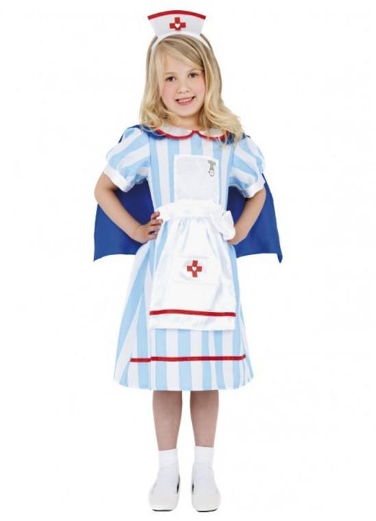 Vintage Nurse Childs Costume
