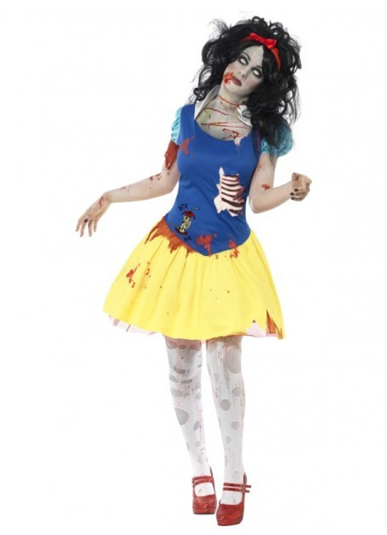Snow Fright Zombie Womens Costume