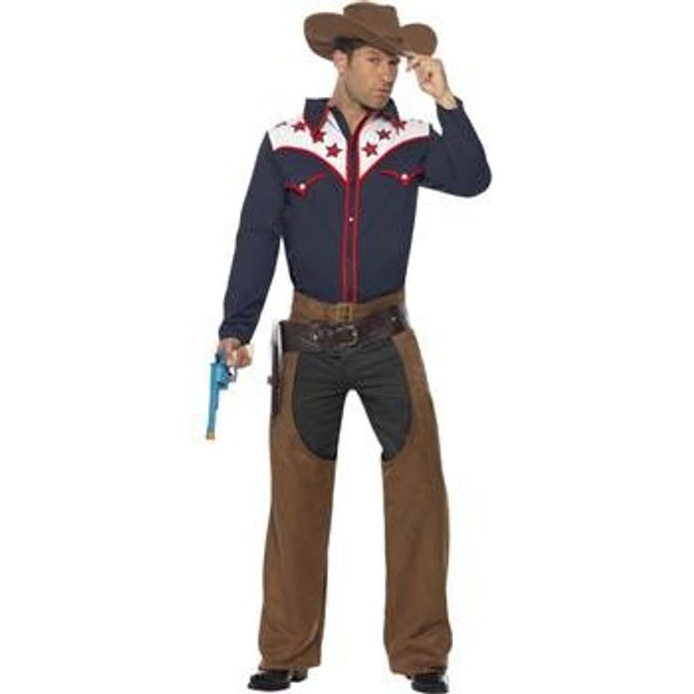 Rodeo Cowboy Mens Costume