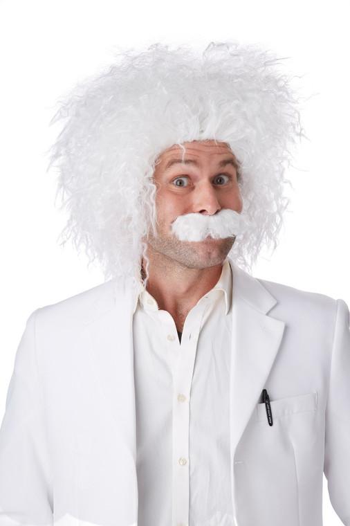 Albert Einstein Costume Wig