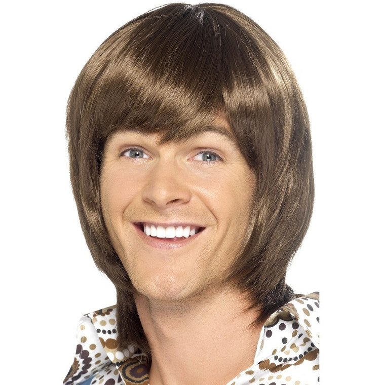 Heartthrob Brown Mens Wig