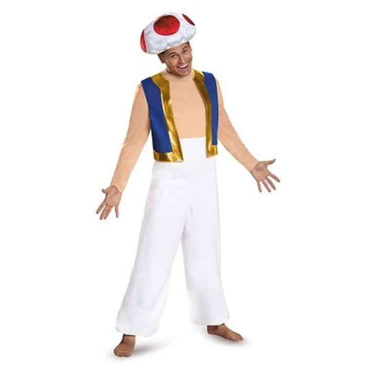 Toad Deluxe Costume - Super Mario Bros